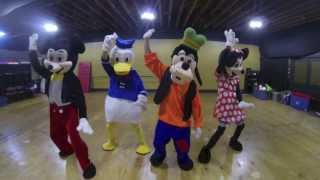 Disney Characters | #NaeNae Dance | Dragon House