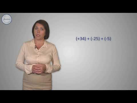 Алгебраическая сумма и её свойства