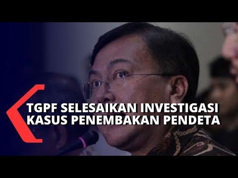 tgpf selesaikan investigasi penembakan pendeta di papua