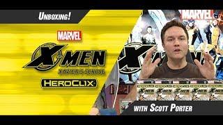 Marvel HeroClix: X-Men Xavier's School Unboxing Part 1
