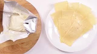 """Как сделать так, чтобы нарезанный сыр не засох в холодильнике? #лайфхак от """"Самой полезной программы"""