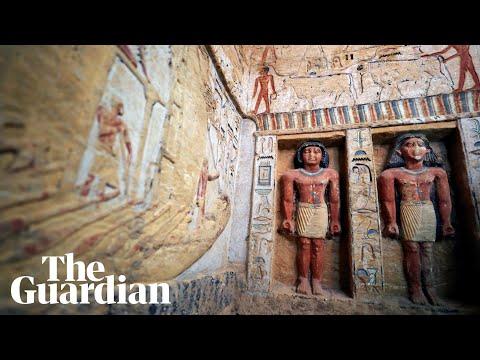 Σημαντική ανακάλυψη στην Αίγυπτο: Βρέθηκε τάφος 4.400 χρόνων ετών (βίντεο)