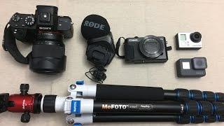 What Cameras, Camera Gear  & Editing Software Do We Use?