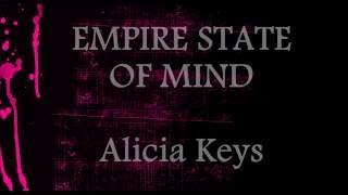 Empire State Of Mind  - Alicia Keys || Lower Key Karaoke (-1)