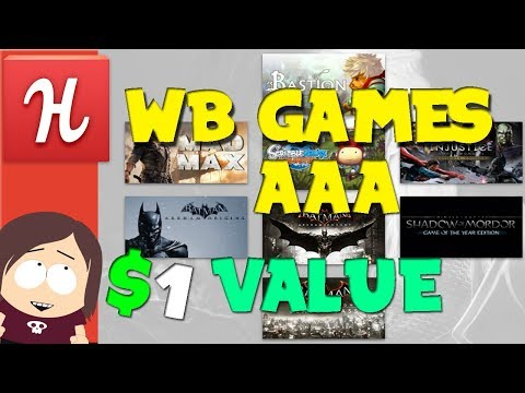 New Humble Bundle! || WB Games Incredible Value! Mp3