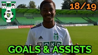 Adriel D'Avila Ba Loua | GOALS & ASSISTS | 18/19