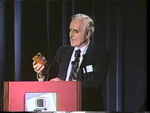 World First Mouse was made of wood, invented by Engelbart's legacy