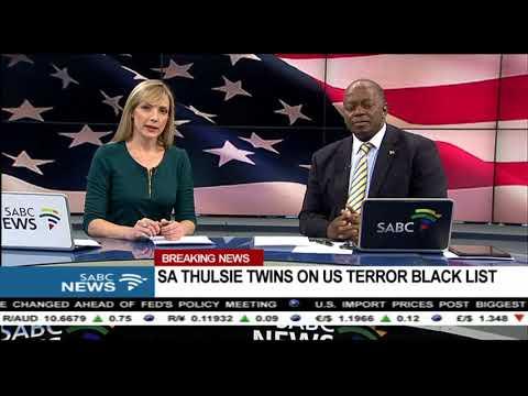 BREAKING NEWS: SA Thulsie twins on US terror blacklist