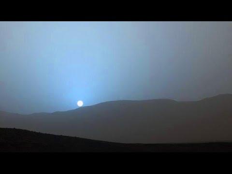 Su Marte il tramonto è blu ★ Immagini dal Rover Curiosity