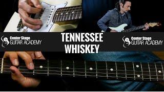 Tennessee Whiskey Guitar Lesson - Chris Stapelton