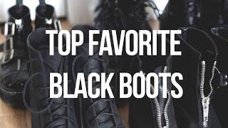 Top Favorite Black Boots | Le Happy