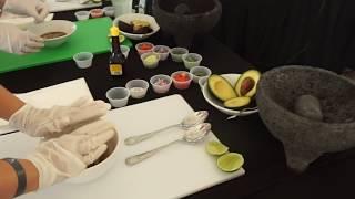 Making Guacamole and Shrimp Ceviche