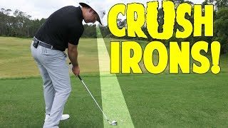Upper Body Bend to Crush Your Iron Shots