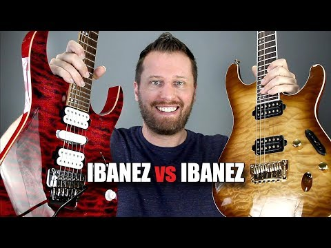 Ibanez RG vs S Series! – Which Guitar is Right For You?