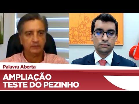 Dagoberto Nogueira explica a importância da ampliação do teste do pezinho no SUS  - 18/03/21