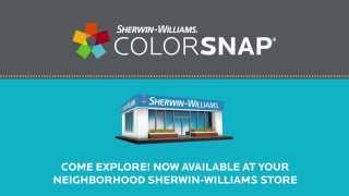 Introducing ColorSnap® Studio Now At Your Nearest Store - Sherwin-Williams