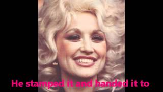 Dolly Parton Letter To Heaven with Lyrics