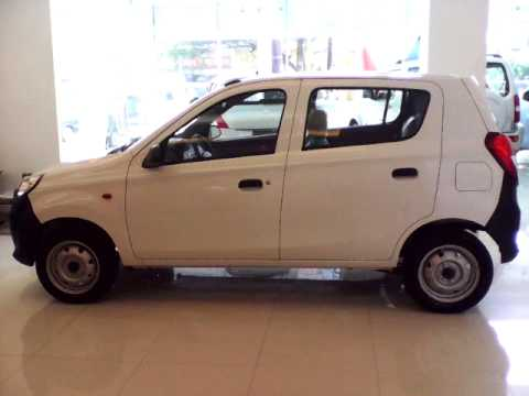 Suzuki Alto 800 Standard with Power Steering Review - White Color