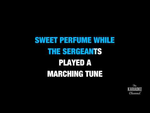 """American Pie in the Style of """"Don McLean"""" karaoke video with lyrics (no lead vocal)"""