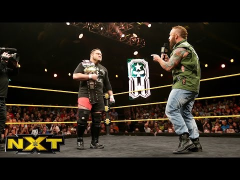Eric Young interrupts Samoa Joe:  WWE NXT, May 4, 2016