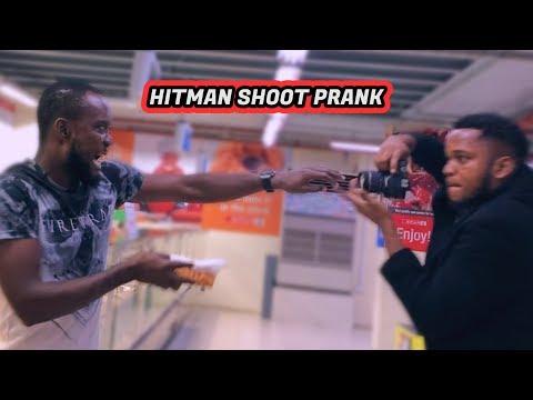 HITMAN SHOOT! PRANK