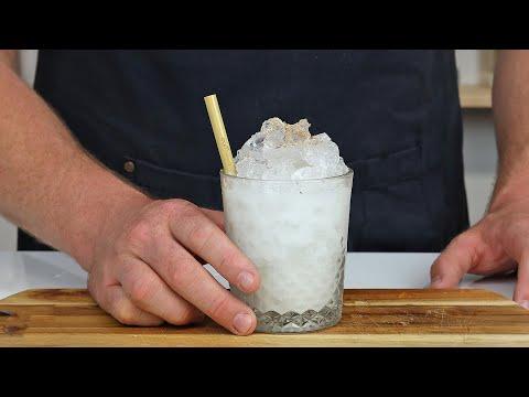 Batida de Coco (Coconut Batida) with DIY Cream of Coconut!