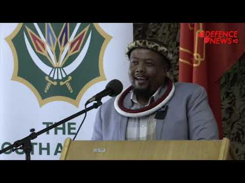 Nkosi Mahlangu address during Chief SANDF stakeholder visit
