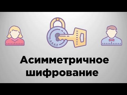 Асимметричное шифрование   Криптография