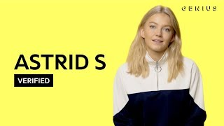 Astrid S Think Before I Talk Official Lyrics & Meaning | Verified