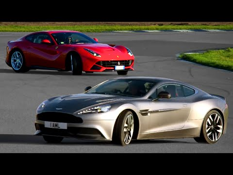 Ferrari F12 vs. Aston Martin Vanquish - Fifth Gear