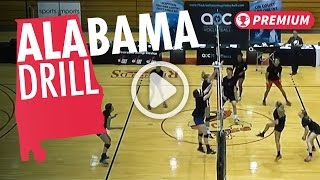 Alabama Drill - The Art Of Coaching Volleyball