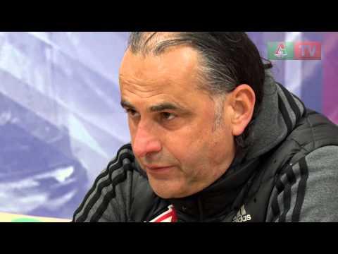 Пресс-конференция после матча с «Мордовией»