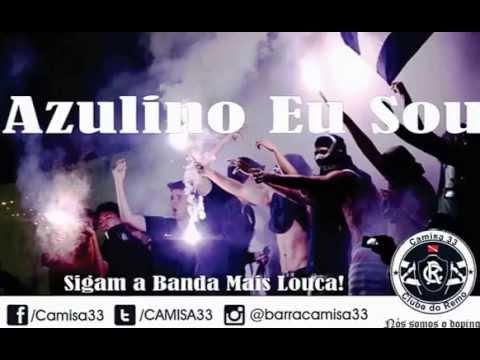 """Camisa 33 - Azulino Eu Sou - Remo X paysandu (28.05.2014)"" Barra: Camisa 33 • Club: Remo"