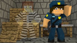 Minecraft : O PRESO INVISÍVEL !! - ( Polícia e Ladrão)