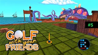 Golf With Your Friends | Pirate Cove Map Fun Gameplay (PART-5)