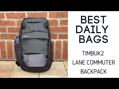 Best Daily / Cycling Bags: Timbuk2 Lane Commuter Backpack Review
