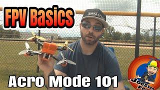 FPV 101- Acro Mode basics / freestyle w/ stick cam