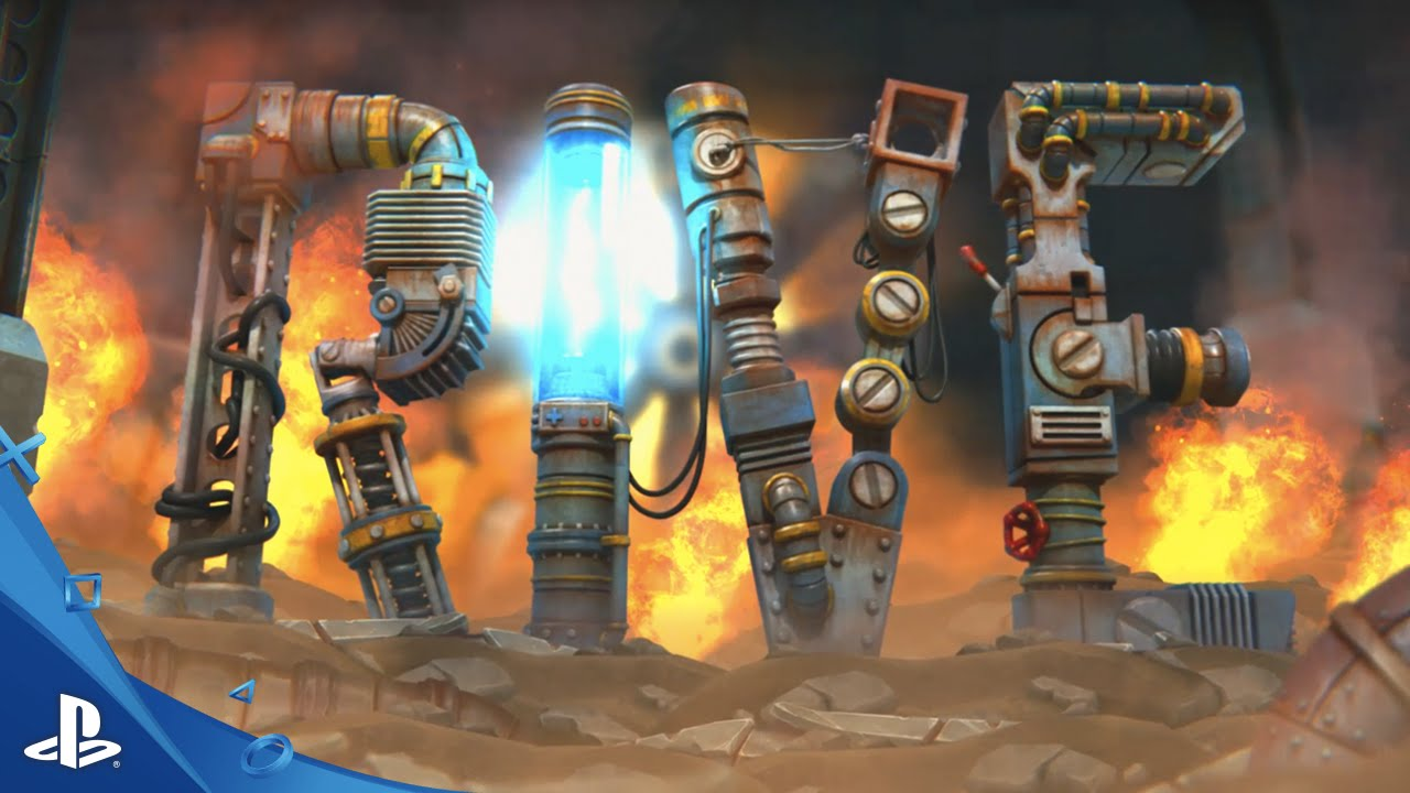 Explosive Shooter Rive Launches September 13 on PS4