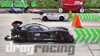 FIRST TO THE FINISH | Scale R/C Drag Racing | Overkill RC