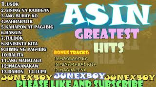 ASIN Greatest Hits Collection   ASIN TAGALOG MELLOW SONGS   All Time Favourite   JUNEXBOY