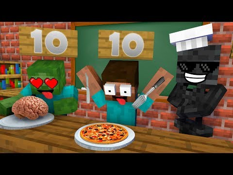 Monster School : COOKING CHALLENGE NEW EPISODE - Minecraft Animation