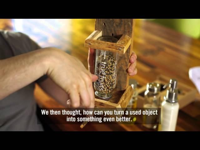 Ehrlichkeit in Flaschen. Upcycling ist das neue Recycling. | Honesty in bottles