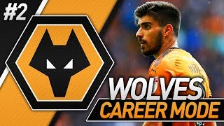 OUR FIRST GAME! FIFA 18 WOLVES CAREER MODE #2