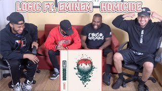 Logic Ft. Eminem   Homicide REACTIONREVIEW