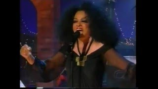 DIANA ROSS  More Today Than Yesterday on Letterman