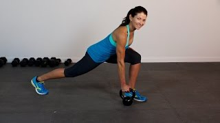 Kettlebell Tabata 1 by shortcircuits with Marsha