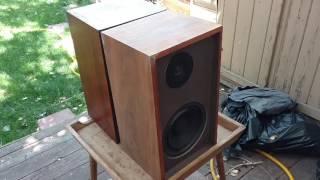 Vintage Speaker Restoration Realistic Nova 6 part 2