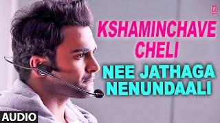 Kshaminchave Cheli Song - Sree Ramachandra - Nee Jathaga Nenundaali (Telugu Movie 2014)