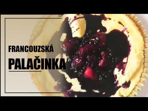 Francouzská palačinka - dezert - rychlé videorecepty