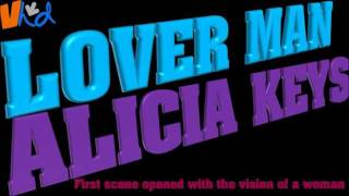 """""""Lover Man"""", in the style of Alicia Keys (with lyrics)"""